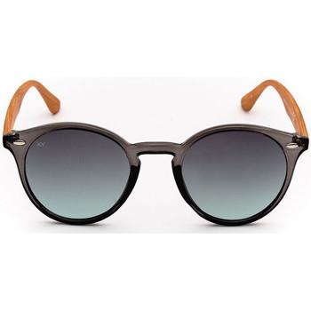 Horloges & Sieraden Zonnebrillen Sunxy Pantelaria Zwart
