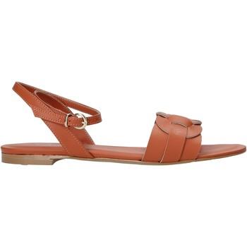 Schoenen Dames Sandalen / Open schoenen Grace Shoes 081006 Oranje