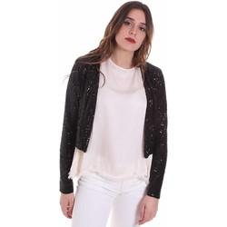 Textiel Dames Vesten / Cardigans Fracomina FR20SP698 Zwart
