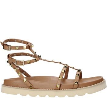 Schoenen Dames Sandalen / Open schoenen Grace Shoes 021003 Bruin