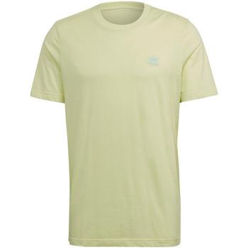 Textiel Heren T-shirts korte mouwen adidas Originals GN3403 Geel