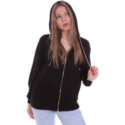 Textiel Dames Sweaters / Sweatshirts Cristinaeffe 4960 Zwart