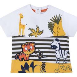 Textiel Kinderen T-shirts korte mouwen Chicco 09067093000000 Wit