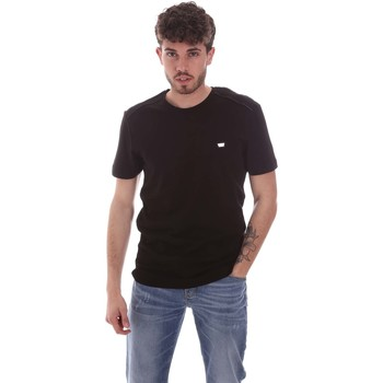 Textiel Heren T-shirts korte mouwen Antony Morato MMKS01924 FA100144 Zwart