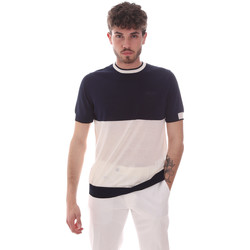Textiel Heren T-shirts korte mouwen Antony Morato MMSW01166 YA100062 Blauw