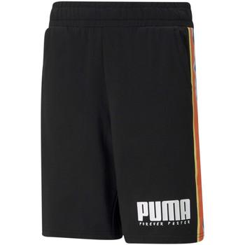 Textiel Kinderen Korte broeken / Bermuda's Puma 585900 Zwart