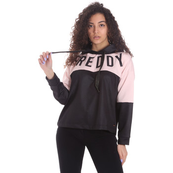 Textiel Dames Sweaters / Sweatshirts Freddy S1WSDS9 Zwart