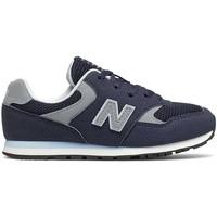 Schoenen Kinderen Lage sneakers New Balance NBYC393CBK Blauw