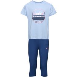 Textiel Kinderen Setjes Diadora 102175918 Blauw