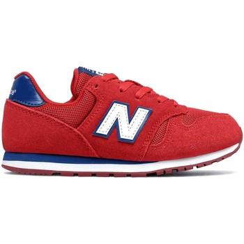 Schoenen Kinderen Lage sneakers New Balance NBYC373SRW Rood