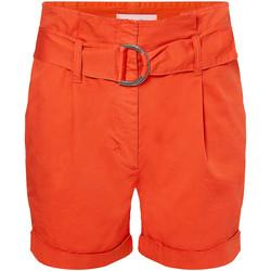 Textiel Dames Korte broeken / Bermuda's Calvin Klein Jeans K20K202820 Oranje