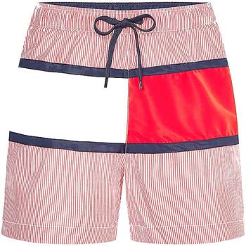 Textiel Heren Zwembroeken/ Zwemshorts Tommy Hilfiger UM0UM02066 Rood