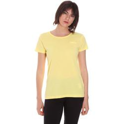 Textiel Dames T-shirts korte mouwen Diadora 102175886 Geel