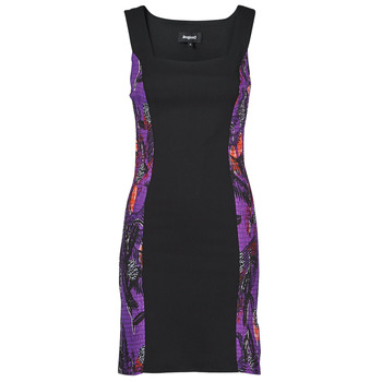 Textiel Dames Korte jurken Desigual BATON ROUGE Multicolour