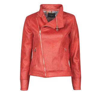 Textiel Dames Leren jas / kunstleren jas Desigual MARBLE Rood