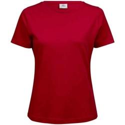 Textiel Dames T-shirts korte mouwen Tee Jays T580 Rood
