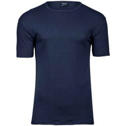 Textiel Heren T-shirts korte mouwen Tee Jays T520 Marine