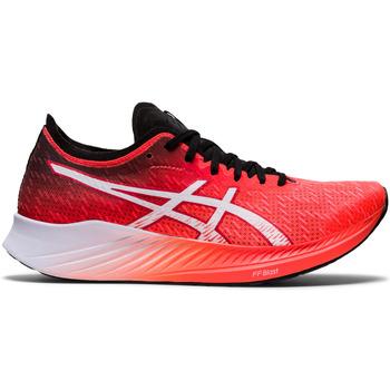 Schoenen Dames Running / trail Asics Chaussures femme  Magic Speed rouge vif/blanc