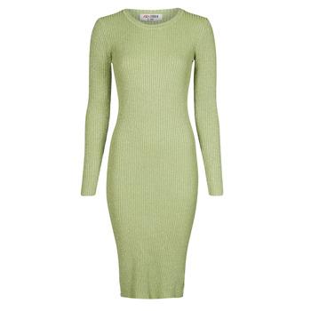 Textiel Dames Lange jurken Yurban PAUWEL Groen