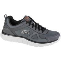 Schoenen Heren Lage sneakers Skechers Track-Scloric Grise