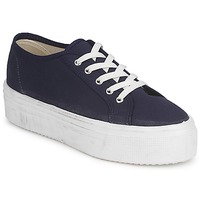 Schoenen Dames Lage sneakers Yurban SUPERTELA Marine