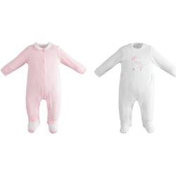 Textiel Meisjes Setjes Ido 42152 Bianco/rosa