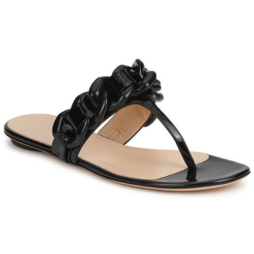 Schoenen Dames Teenslippers Versus by Versace FSD364C Zwart