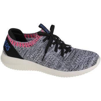 Schoenen Dames Lage sneakers Skechers Ultra Flex-Rapid Attention Blanc