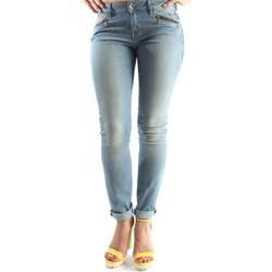 Textiel Dames Straight jeans Geox W5230A T2209 Blauw