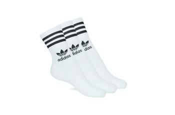 Ondergoed High socks adidas Originals MID CUT CRW X 3 Wit