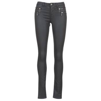 Textiel Dames 5 zakken broeken Only NEW OLIVIA COATED Zwart