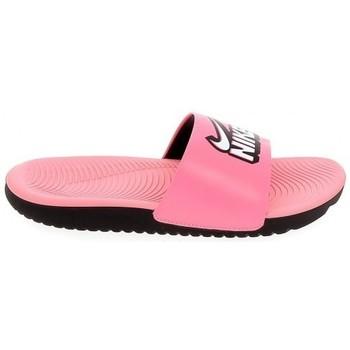 Schoenen Meisjes slippers Nike Kawa K Rose 1010474240016 Roze