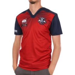 Textiel Heren T-shirts korte mouwen Canterbury  Rood