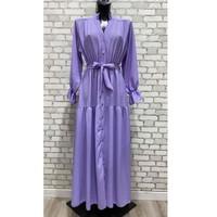 Textiel Dames Lange jurken Fashion brands 2155-LILAS Lila