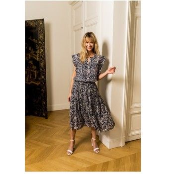 Textiel Dames Tops / Blousjes Fashion brands CK08138-MARINE Marine