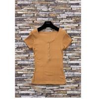 Textiel Dames Tops / Blousjes Fashion brands HS-2863-BROWN Bruin