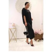 Textiel Dames Tops / Blousjes Fashion brands 9159-BLACK Zwart