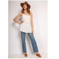 Textiel Dames Tops / Blousjes Fashion brands 490-WHITE Wit