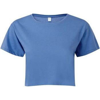 Textiel Dames Tops / Blousjes Tridri TR019 Korenbloem