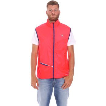 Textiel Heren Vesten / Cardigans Diadora 102174986 Roze