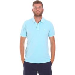 Textiel Heren Polo's korte mouwen Sundek M787PLPQ1TC Blauw