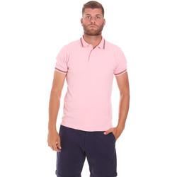 Textiel Heren Polo's korte mouwen Sundek M779PLJ6500 Roze