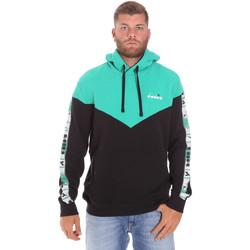 Textiel Heren Sweaters / Sweatshirts Diadora 502176092 Zwart