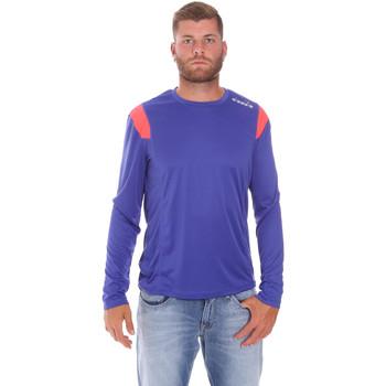 Textiel Heren T-shirts met lange mouwen Diadora 102175720 Blauw
