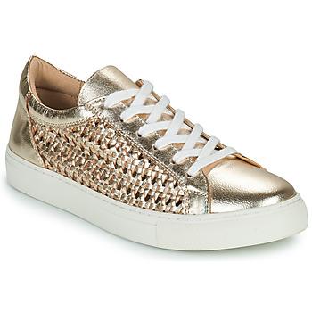 Schoenen Dames Lage sneakers Cosmo Paris WELLY Goud