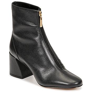 Schoenen Dames Enkellaarzen Cosmo Paris ZELINA Zwart