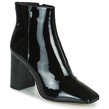 Schoenen Dames Enkellaarzen Cosmo Paris ZANA Zwart