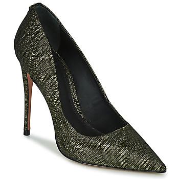 Schoenen Dames pumps Cosmo Paris AELIA 2 Zwart / Goud
