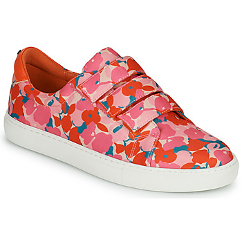 Schoenen Dames Lage sneakers Cosmo Paris HAJIA Roze / Fleur