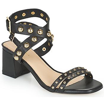 Schoenen Dames Sandalen / Open schoenen Cosmo Paris HARLA Zwart